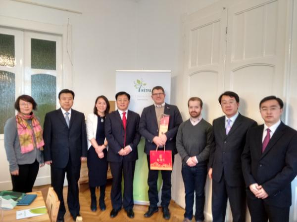 Antal Piross, associate of HÉTFA, has participated at the forum of Chinese Central Translation and Compilation Bureau in Warsaw