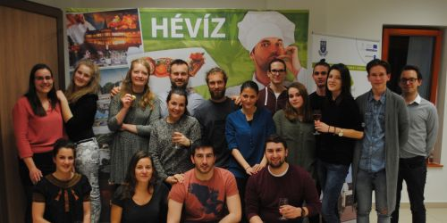 The experts of the HÉTFA represented the city of Hévíz in an Erasmus+ project