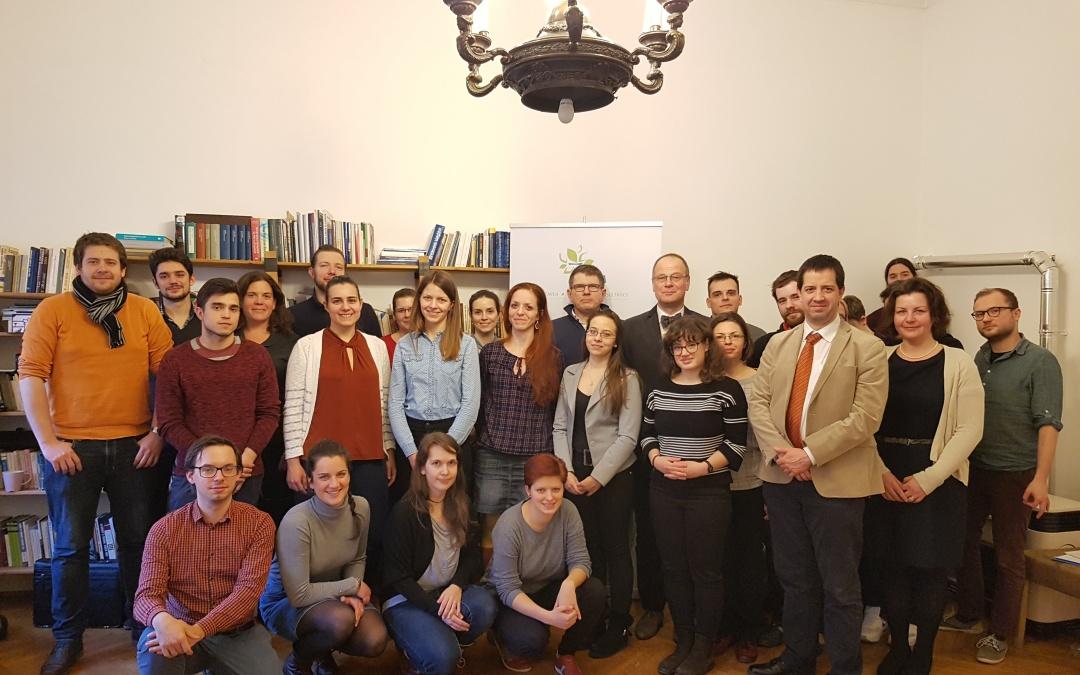 Tibor Navracsics was the guest of HÉTFA