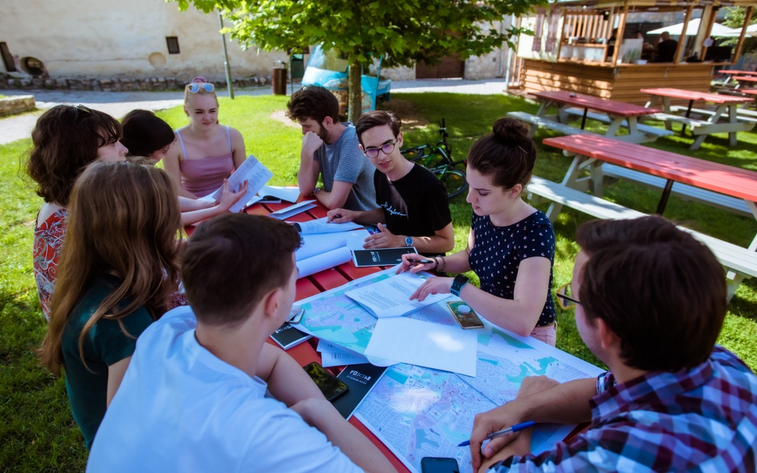 Mapping cultural heritage: local map crafted by young Veszprémers with the support of HETFA