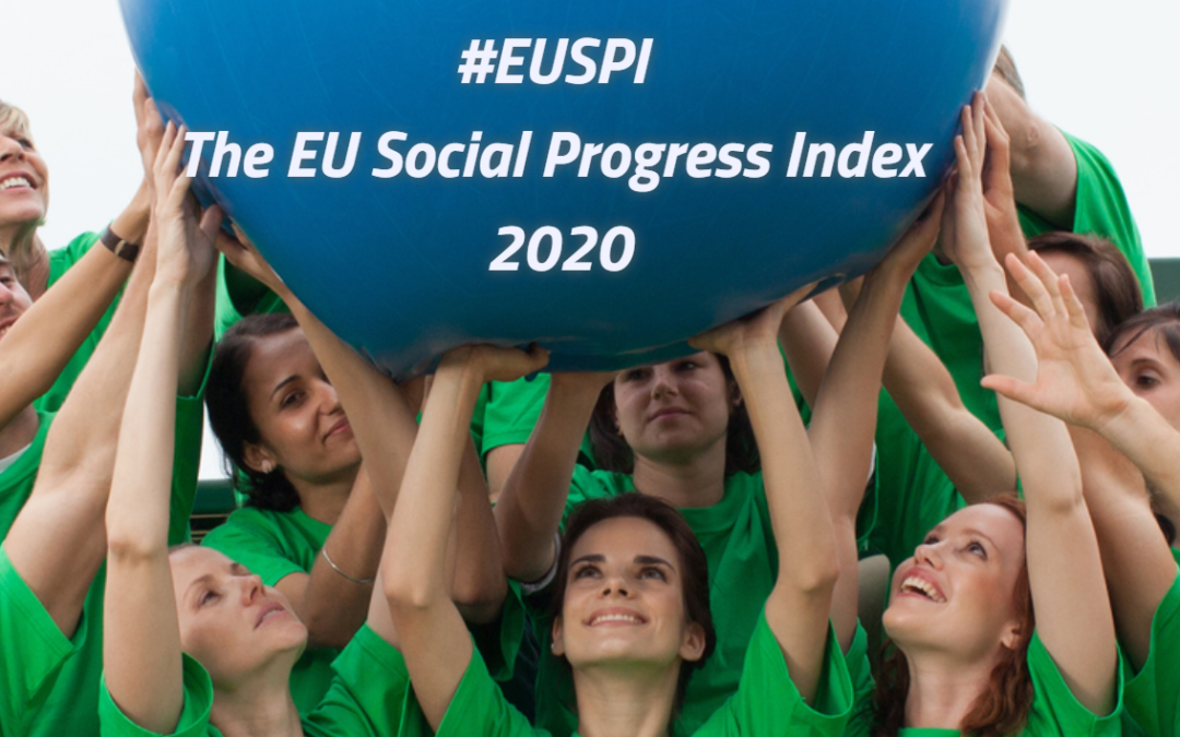 The new Social Progress Index of EU was launched